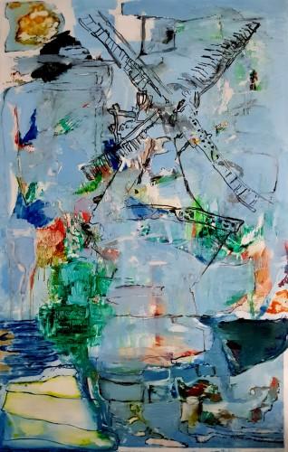 Windmühle-Acryl